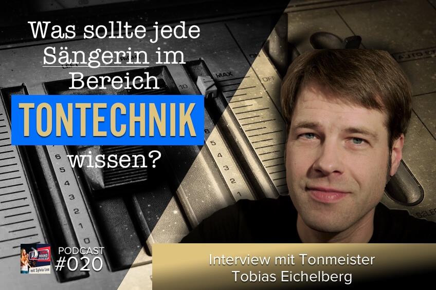SB20-Tontechnik für Sängerin mit Tobias Eichelberg