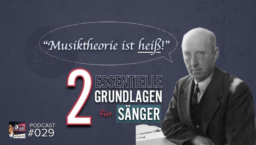 Musiktheorie für Sänger