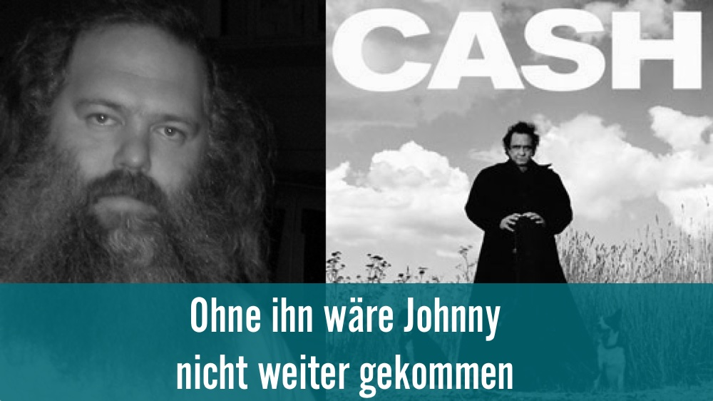 Heavy Metal Produzent rettete Johnny Cash